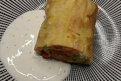 Ofenpfannkuchen mit Gemüse und Feta 41