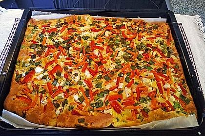 Ofenpfannkuchen mit Gemüse und Feta 11
