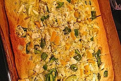 Ofenpfannkuchen mit Gemüse und Feta 44