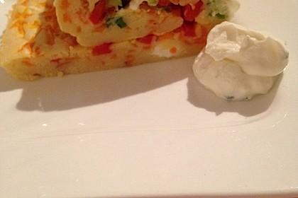 Ofenpfannkuchen mit Gemüse und Feta 22