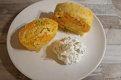 Ofenpfannkuchen mit Gemüse und Feta 29