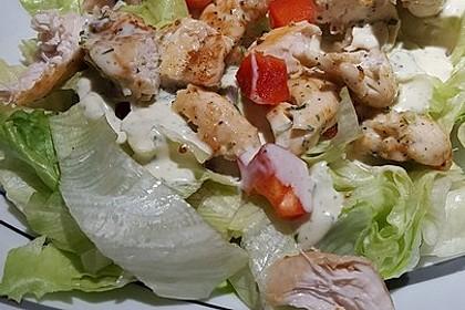 Fitness-Salat mit Hähnchen 4