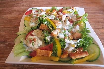 Fitness-Salat mit Hähnchen 1