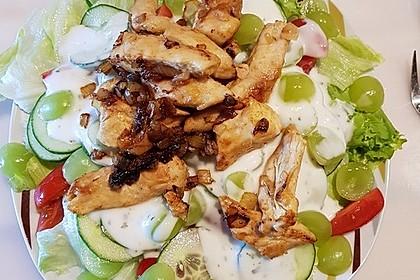 Fitness-Salat mit Hähnchen 7