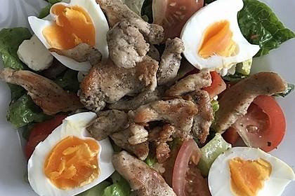 Fitness-Salat mit Hähnchen 8