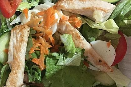 Fitness-Salat mit Hähnchen 9