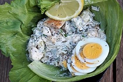 Fitness-Salat mit Hähnchen 10