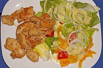 Fitness-Salat mit Hähnchen 11