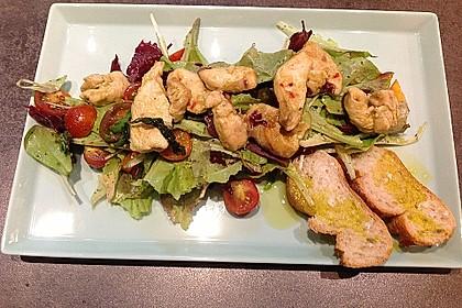 Fitness-Salat mit Hähnchen 2