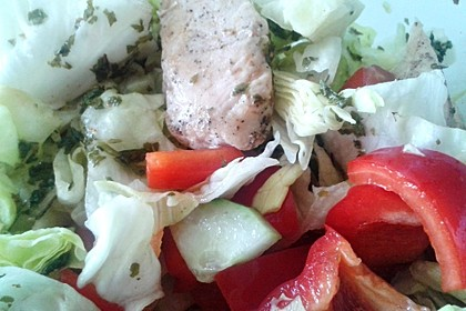 Fitness-Salat mit Hähnchen 3