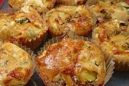 Zucchini-Feta-Kuchen 1