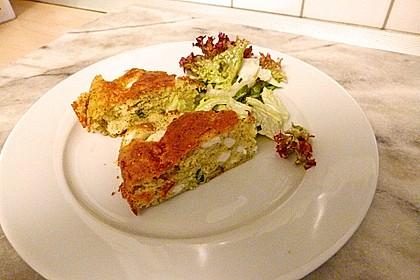 Zucchini-Feta-Kuchen 2