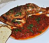 Italienische Hähnchenkeulen (Bild)