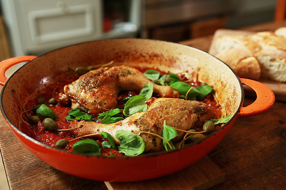 Italienische Hähnchenkeulen Von Chefkoch Video Chefkoch