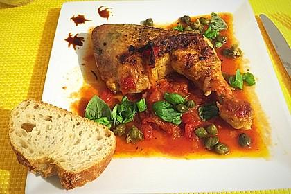 Italienische Hähnchenkeulen 4
