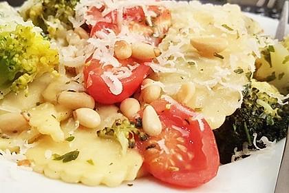 Pasta mit Brokkoli 12