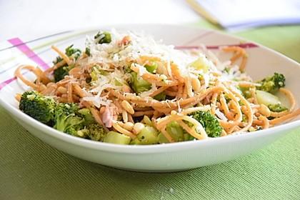 Pasta mit Brokkoli 1