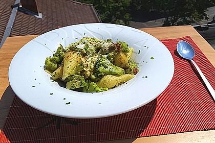 Pasta mit Brokkoli 6