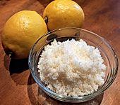Zitronenzucker oder Orangenzucker (Bild)