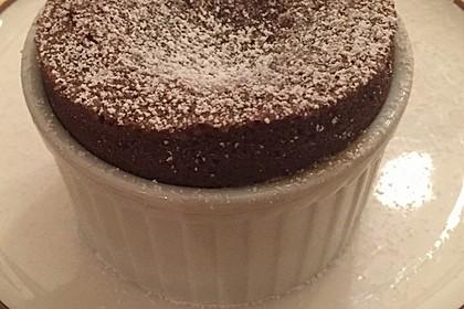 Schokoladenküchlein mit flüssigem Kern 3