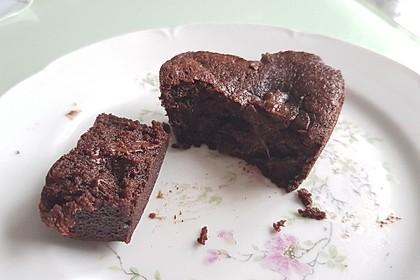 Schokoladenküchlein mit flüssigem Kern 16