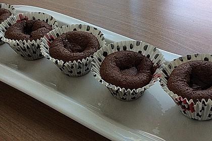 Schokoladenküchlein mit flüssigem Kern 11