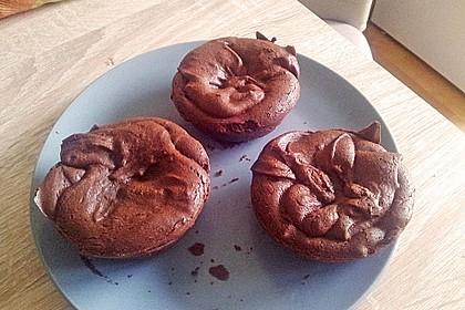 Schokoladenküchlein mit flüssigem Kern 10