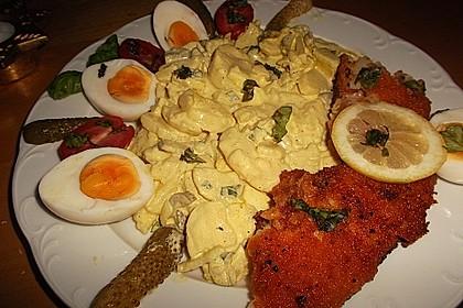 Backfisch mit Kartoffelsalat und Remoulade 7
