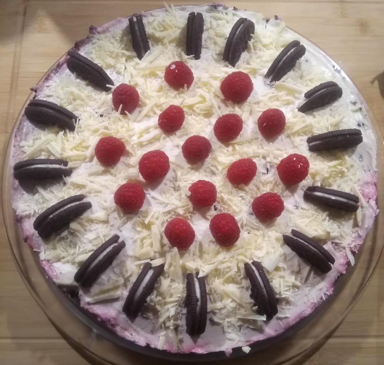 Oreo Erdbeer Cheesecake 19