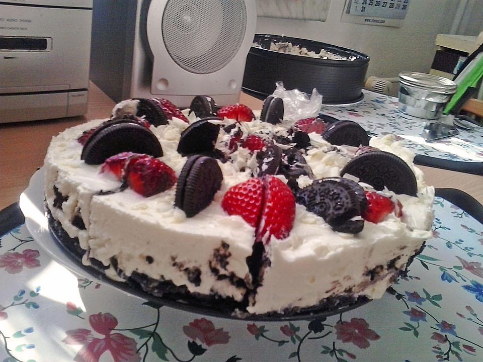 Oreo Erdbeer Cheesecake Von Rexho54 Chefkoch De