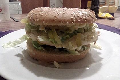 Sandwich nach Big Mac-Art