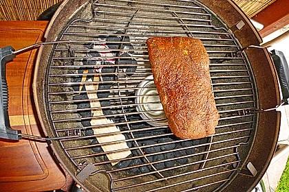 Pulled Pork aus dem Smoker 12