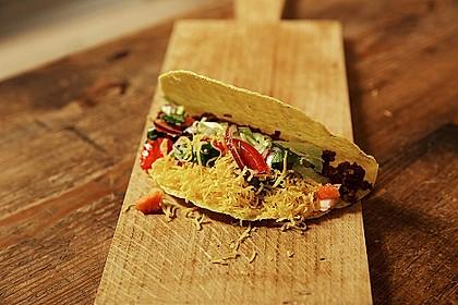 Hackfleisch-Tacos
