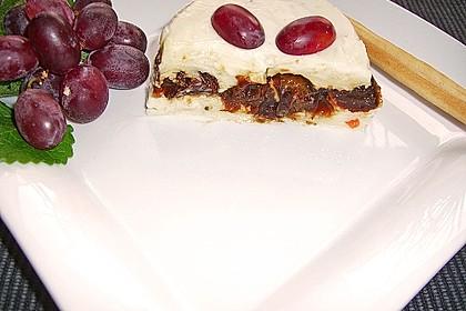 Käsepastetchen mit Portweinpflaumen