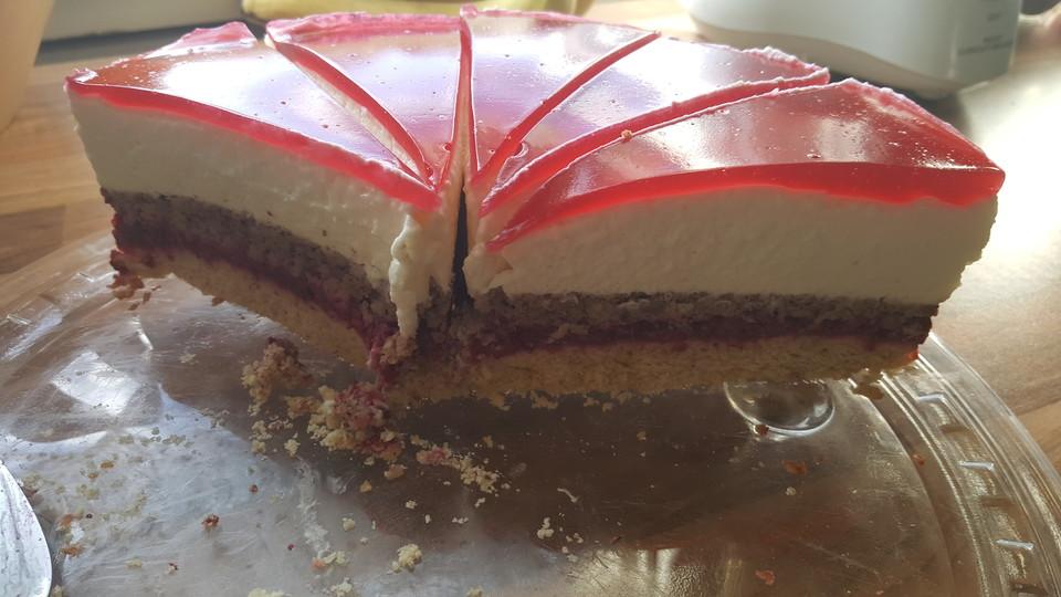 Himbeer Kasesahne Torte Von Rumpelchen W Chefkoch De