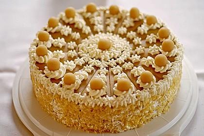 Apfel-Marzipan-Torte