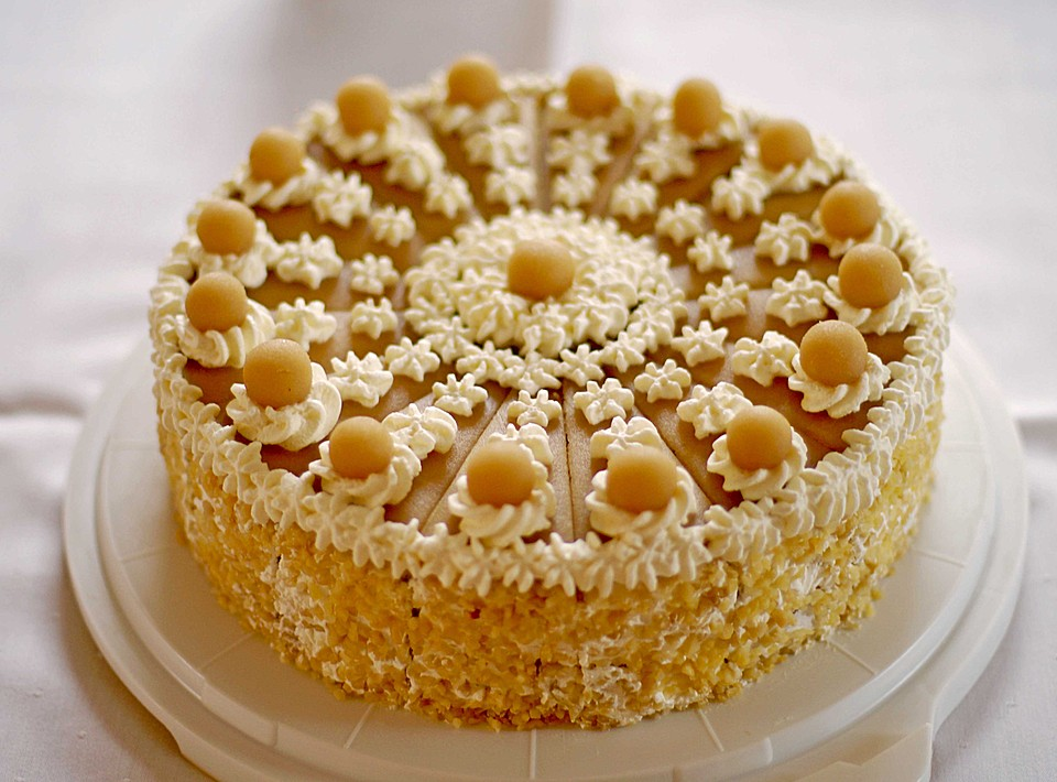 Apfel Marzipan Torte Von Mareike 1985 Chefkoch De
