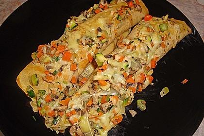Gemüsepfannkuchen aus dem Ofen