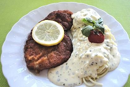Parmesan-Nudeln (Bild)