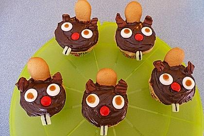 Biber-Cupcakes (Bild)