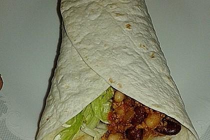 Wrap- oder Tortillafüllung TexMex vegetarisch (Bild)