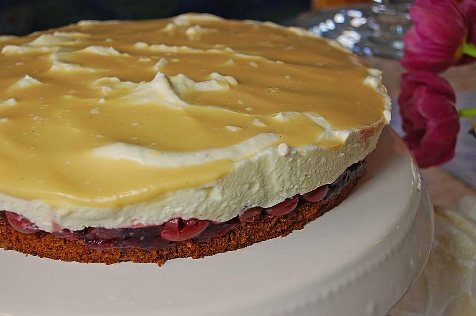 Eierlikor Kirsch Sahne Torte Von Terpsychore Chefkoch De
