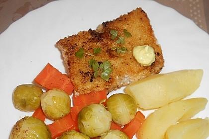Fischfilet, gebraten (Bild)