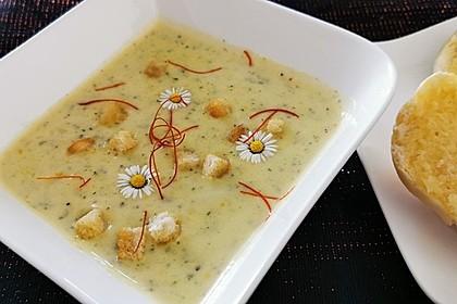 Schnelle Zucchinisuppe (Bild)