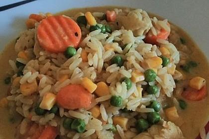 Reispfanne thailändisch à la Ille