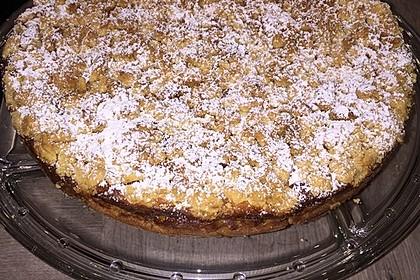 Apfel Nuss Kuchen Mit Streuseln Und Quarkcreme Von Tativuzzy