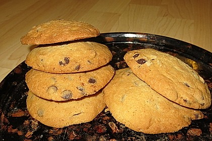 Chewy Chocolate Chip Cookies 4