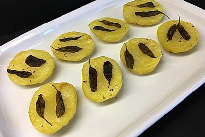 Knusprige Salbei-Kartoffeln (Bild)