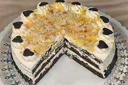 Schoko-Eierlikör-Torte (Bild)