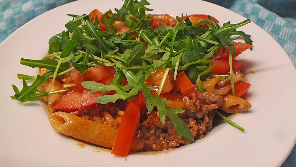 Leichte mediterrane Nudeln von TheSpaghettiMonser | Chefkoch.de